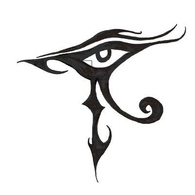 Eye of Horus by IcePhoenixX