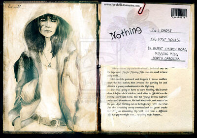 LS Nothing post card by fya shellk