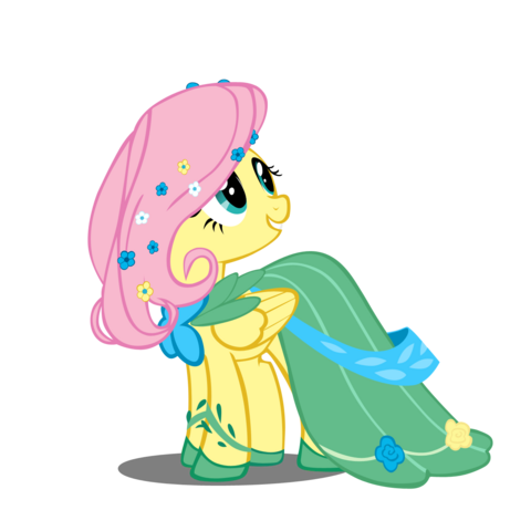 File:Fluttershy at the gala by takua770-d3gp3yj.png