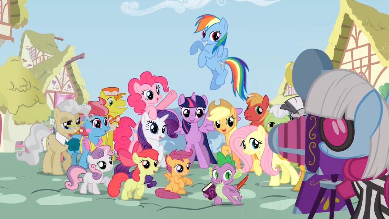 G n rique de my little pony les amies c 39 est magique - My little pony en dessin anime ...
