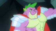 Manly Spike waiting S1E19