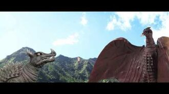 Godzilla meets My Little Pony
