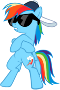 My second vector of rainbow dash by flutterflyraptor-d5dimmw
