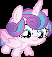 Princess flurry heart standing vector by davidsfire-dbmi937