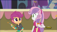 Sweetie belle et Scootaloo