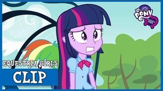 Twilight vs Rainbow Dash MLP Equestria Girls HD