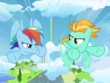 Rainbow Dash, apprentie Wonderbolt