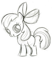 Apple Bloom croquis