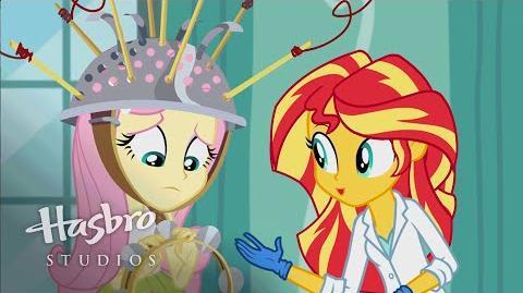 """MLP Equestria Filles - Jeux d'amitié """"La Science de la Magie"""""""