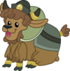 Young yak by magister39-d8z2lyn
