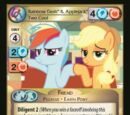 Rainbow Dash & Applejack, Two Cool