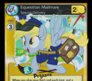 Equestrian Mailmare, Special Delivery (The Crystal Games Promo)