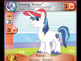 Shining Armor, Team Trainer