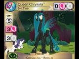 Queen Chrysalis, Evil Twin