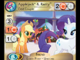 Applejack & Rarity, Odd Couple