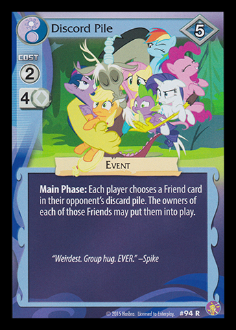 Discord Pile | My Little Pony Collectible Card Game Wiki