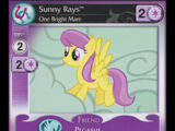 Sunny Rays, One Bright Mare