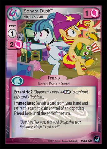 My Little Pony MLP CCG HIGH MAGIC Wake Up Call 115R X 3