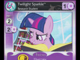 Twilight Sparkle, Research Student