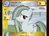 Marble Pie, Quiet as a Stone (Marks in Time Promo)