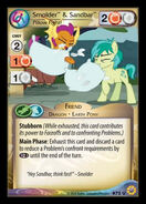 Smolder & Sandbar, Pillow Fight!
