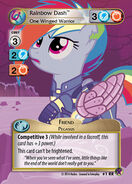 Rainbow Dash, One Winged Warrior (Marks in Time Royal Rare)