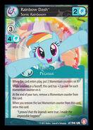 Rainbow Dash, Sonic Rainboom