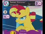 Sunset Shimmer, Clever Girl
