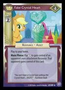 Fake Crystal Heart