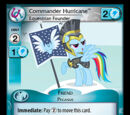 Commander Hurricane, Equestrian Founder