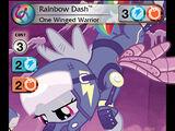 Rainbow Dash, One Winged Warrior