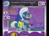 Canterlot Archive Guard, Literate Lookout