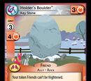 Holder's Boulder, Key Stone