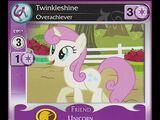 Twinkleshine, Overachiever