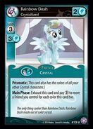 Rainbow Dash, Crystallized