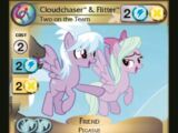 Cloudchaser & Flitter, Two on the Team