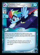 Rainbow Dash, Back in Black