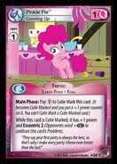 Pinkie Pie, Growing Up