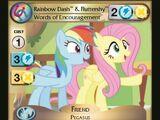 Rainbow Dash & Fluttershy, Words of Encouragement