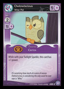 Owlowiscious, Wise Pet