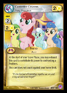 Canterlot Citizens, Pony Populace