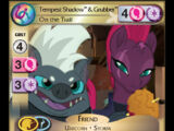 Tempest Shadow & Grubber, On the Trail
