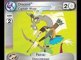 Discord, Captain Wuzz (Defenders of Equestria Promo)
