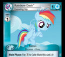 Rainbow Dash, Growing Up