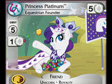 Princess Platinum, Equestrian Founder
