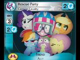 Rescue Party, Cannon Cavalry