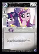 Princess Cadance, Calming Presence