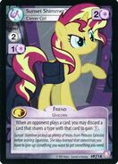 Sunset Shimmer, Clever Girl (Absolute Discord Promo)