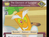 The Element of Surprise, Element of Disharmony