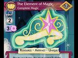 The Element of Magic, Complete Magic